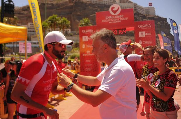 Shaikh Nasser hits personal best time