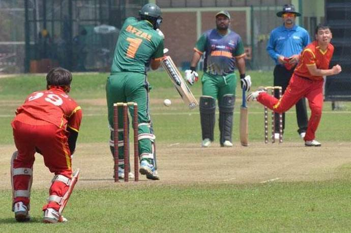 China bowled out for 28 in World League qualifier, Bahrain takes part