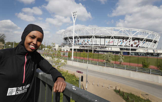 Granted UK asylum after 2012 Olympics, Somali to run again