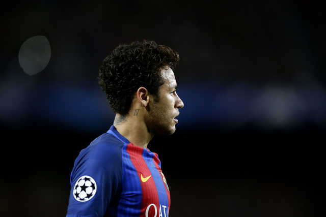 Barcelona leaves Neymar out of 'clasico' against Madrid