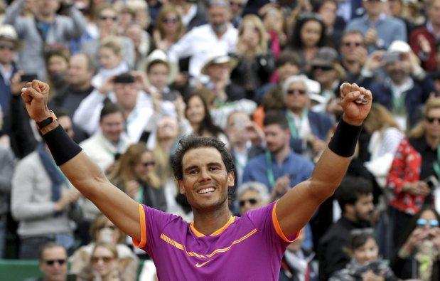 Rafael Nadal wins historic 10th Monte Carlo title