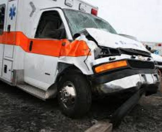 70-year old patient dies as ambulance hits lorry