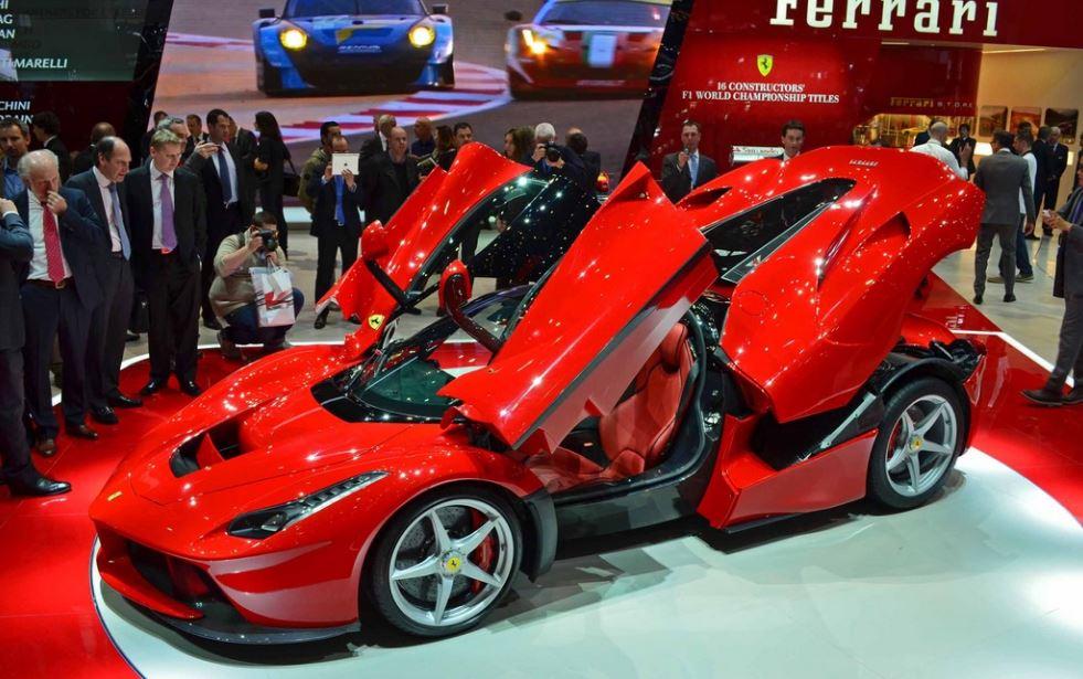 Motoring: Leake auction strikes gold with $3.7 million sale of LaFerrari