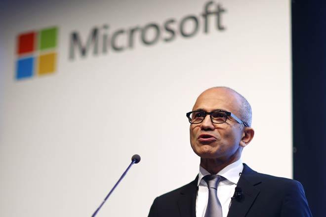 Microsoft's Nadella banks on LinkedIn data to challenge Salesforce