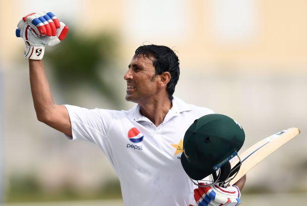 Younis Khan crosses 10,000-run milestone