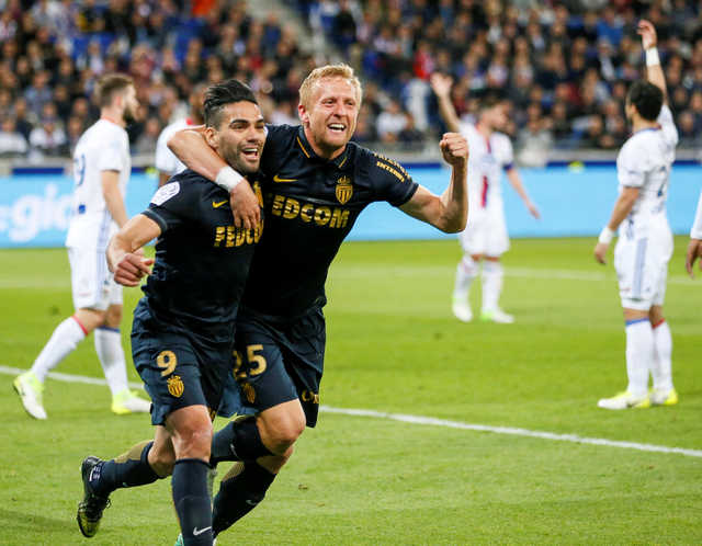 Ligue 1: Monaco reclaims top spot after 2-1 win at Lyon