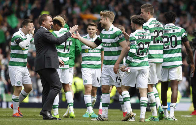Rodgers proud as punch of treble-chasing Celtic