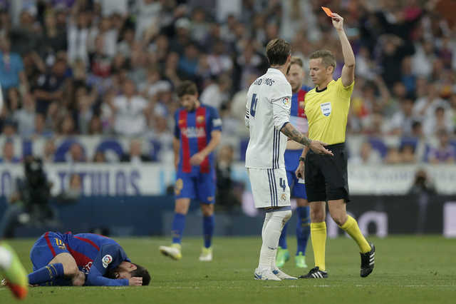 Ramos red could cost Madrid dear in title race