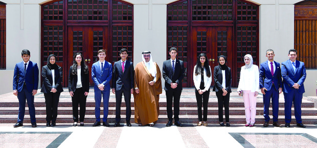 Crown Prince hails crucial role of youth at felicitation ceremony for scholars