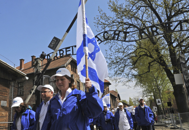 Photos: Thousands at Auschwitz for yearly Holocaust memorial event