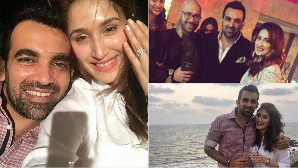 Indian cricketer Zaheer Khan engaged to actress Sagarika Ghatge