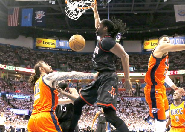 Rockets put Thunder on brink