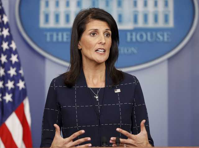 Haley: American's detention an act of 'flailing' N.Korea leader