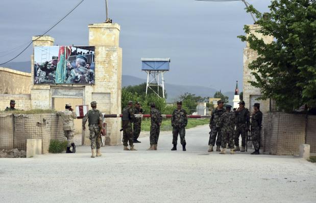 Afghanistan arrests 35 soldiers after attack on base