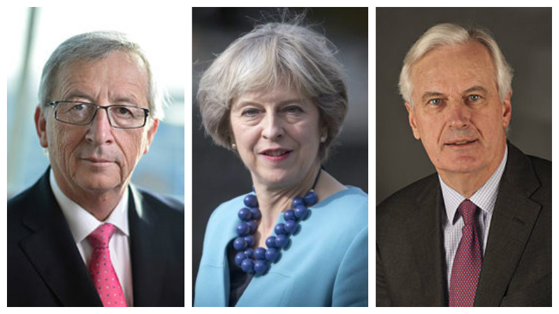 May to meet Juncker, Barnier ahead of key summit