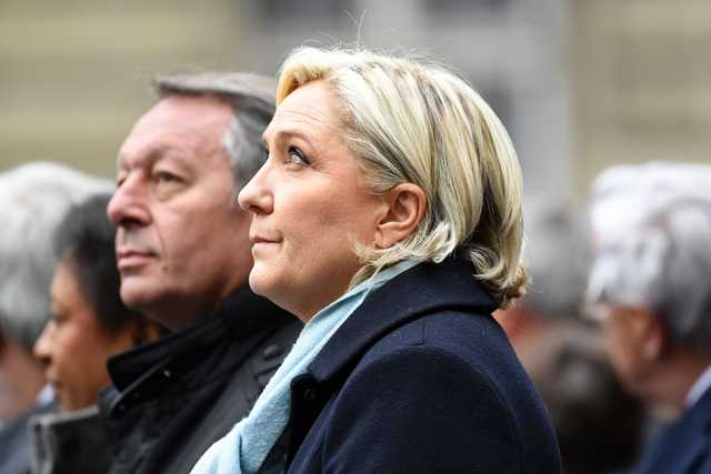 France's Le Pen says the people revolting against the elite