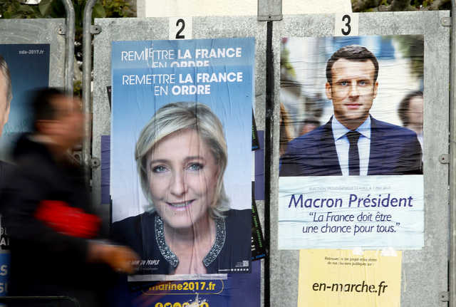 Poll: Macron slower off mark than Le Pen in last French election lap