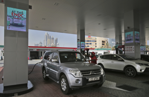 UAE's first solar-powered petrol pump opens in Dubai
