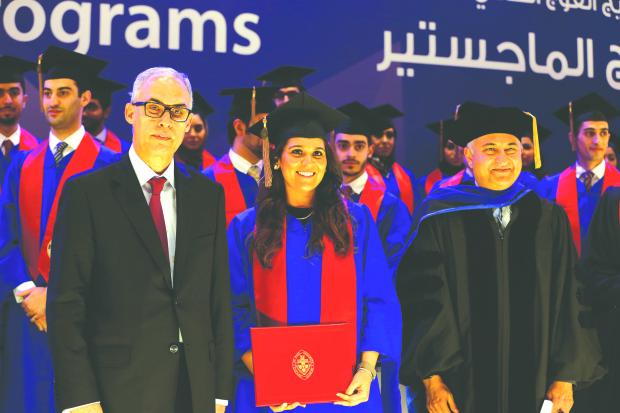 Graduates take a bow...
