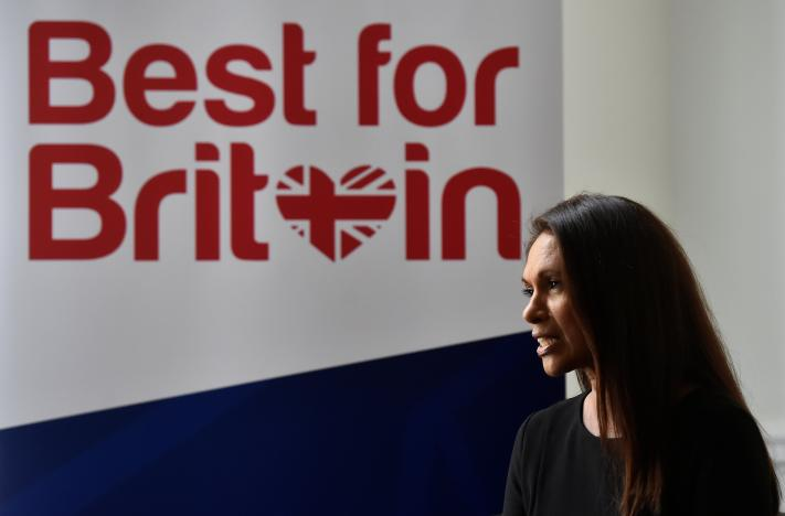 Gina Miller takes Brexit battle to British elections