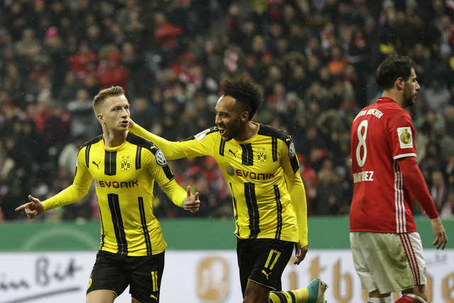 Dortmund beats Bayern to reach fourth straight German Cup final