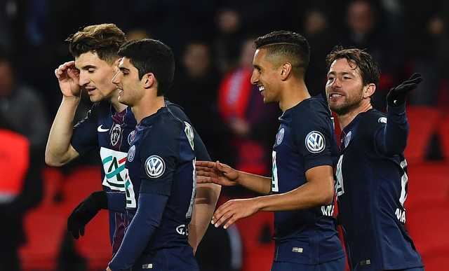 PSG into French Cup final with 5-0 win over Monaco