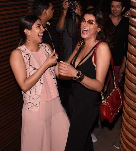 Girl Power! Kangana, Sushmita, Rekha, Tamannah light up Priyanka Chopra's party