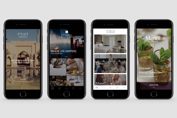 Emaar Hospitality Group launches five apps