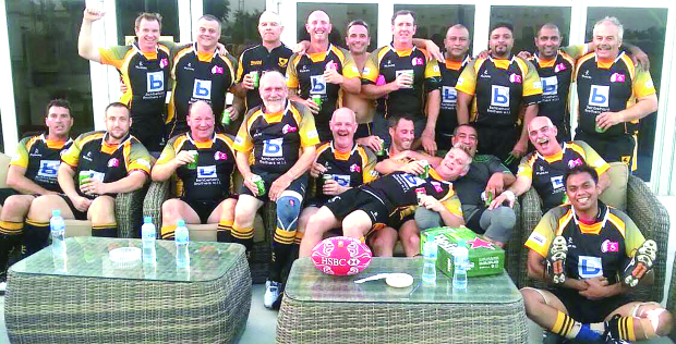 Senior rugby players team up for a cause