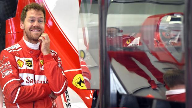 Vettel leads Ferrari one-two in Sochi practice