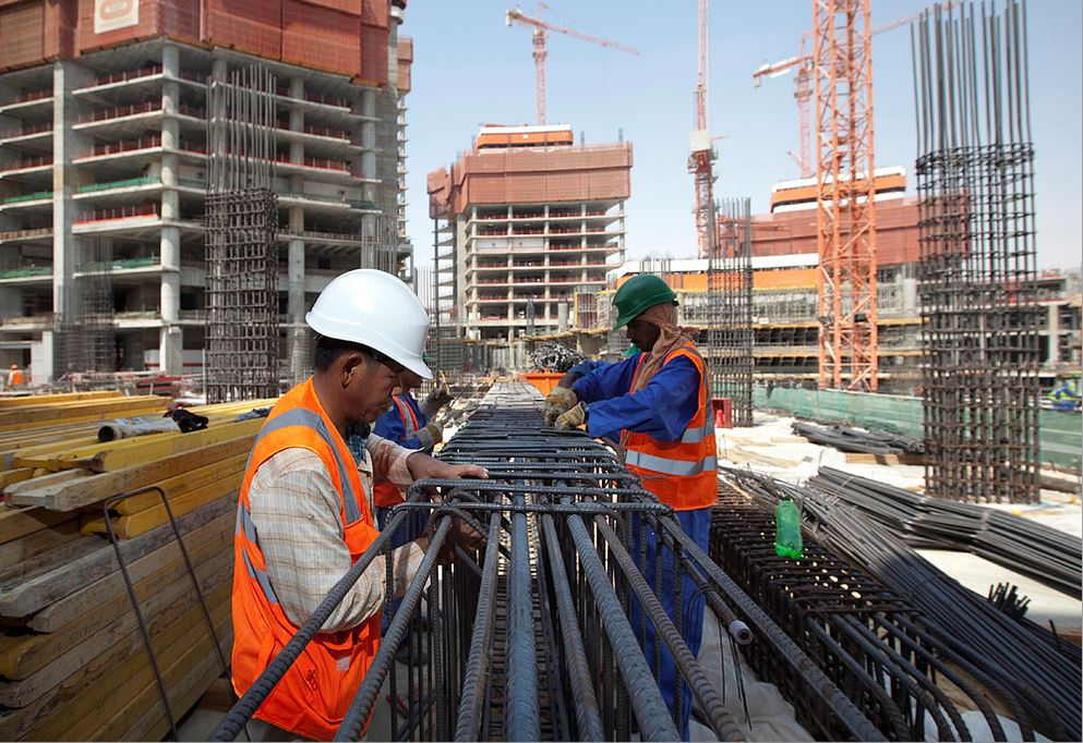 Qatar pledges safety, security and proper environment at work sites