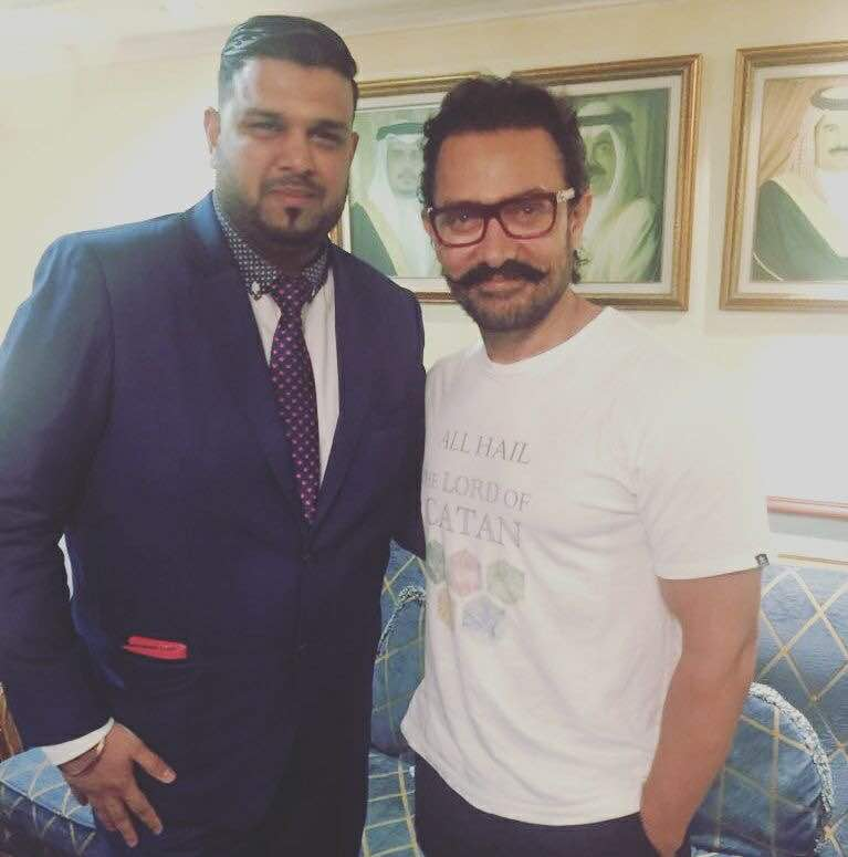 Bollywood star Aamir Khan in Bahrain for Indian wedding
