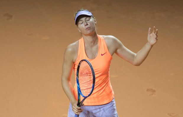 Sharapova's return ends in semifinal defeat to Mladenovic