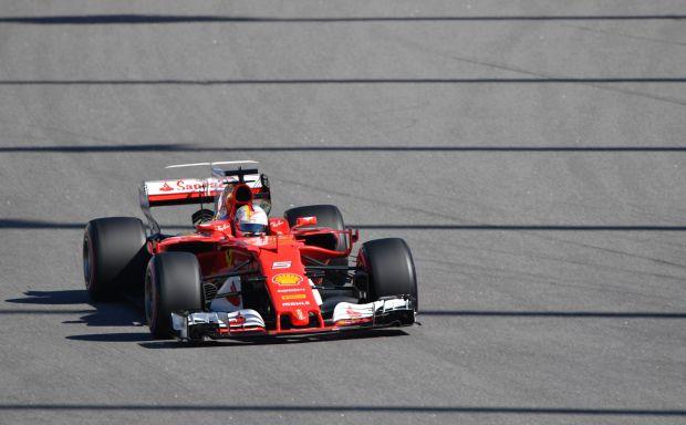 Vettel takes pole position for Russian Grand Prix