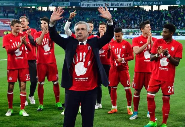 Bayern Munich wins record 5th straight Bundesliga title