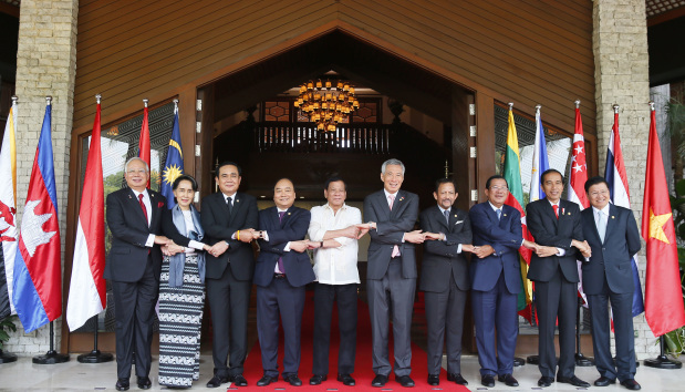 Duterte opens ASEAN summit with oblique swipe at US, EU