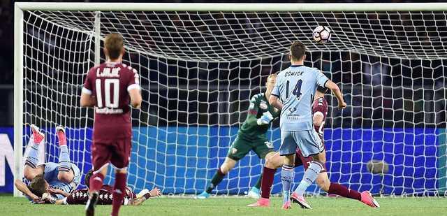 Serie A: Iturbe saves Torino as classy Schick scores again
