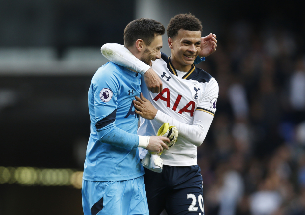 Premier League: Spurs beat local rivals Arsenal to keep up title challenge