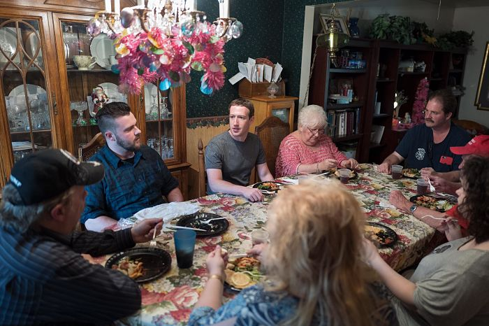 Ohio family surprised when Mark Zuckerberg came to dinner