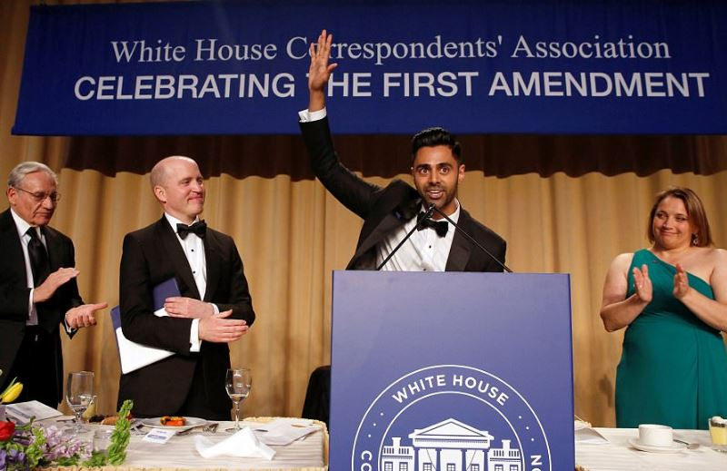 Comedian Minhaj destroys Trump at White House Correspondent's Dinner