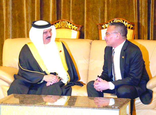 King visits Malaysia
