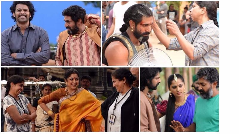 These FASCINATING behind-the-scenes photos from 'Baahubali 2' are a visual treat!