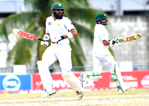 Azhar and Misbah put Pakistan on top against West Indies