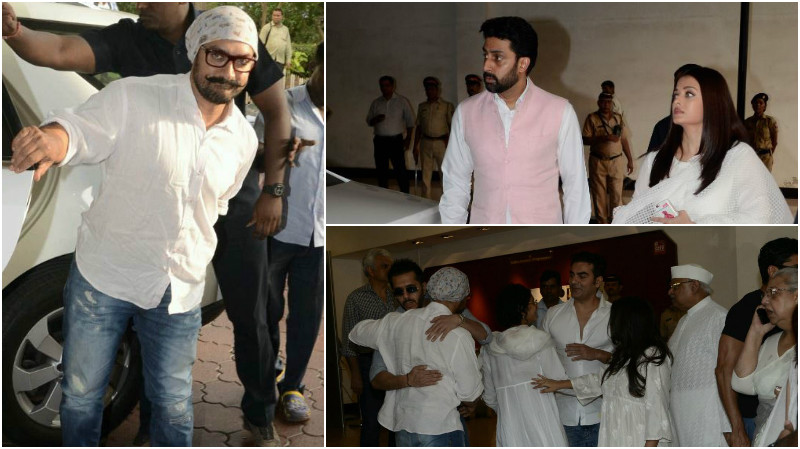 IN PICTURES: Bollywood stars attend Vinod Khanna's prayer meet