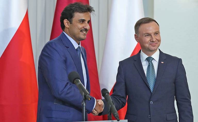 Qatar and Polish leaders hold talks, agreements signed