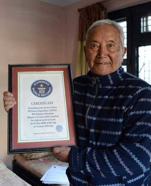 85-year-old man dies trying to become world's oldest Everest climber