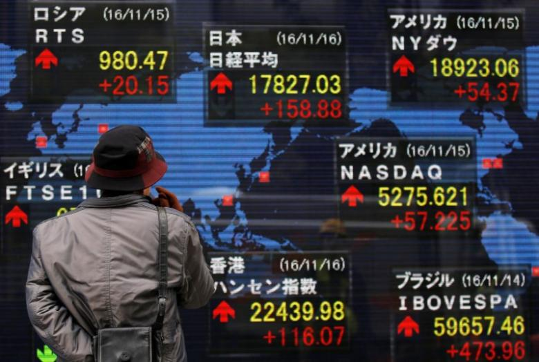 Euro hits 6-month high, Asia shares firm after French vote relief