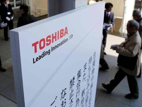 Toshiba wrangles with Western Digital over chips unit sale