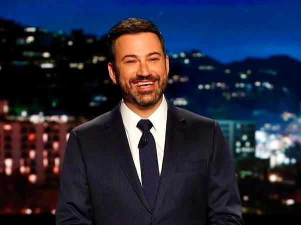 Back on TV, Kimmel hits back at critics of his health care plea