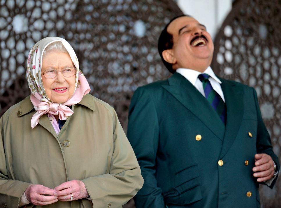 Local News: PHOTOS: King Hamad meets Queen Elizabeth & Dubai Ruler Shaikh Mohammed